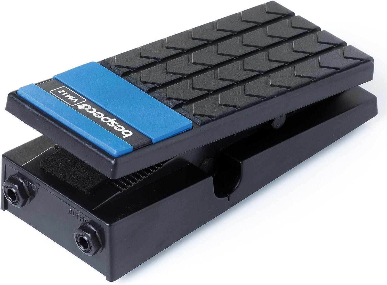 Bespeco VM12 - Pedal de volumen mono para guitarra, color negro