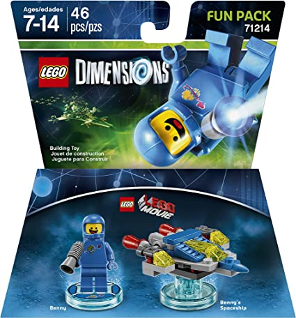 LEGO Movie Benny Fun Pack - LEGO Dimensions by Warner Home Video ...