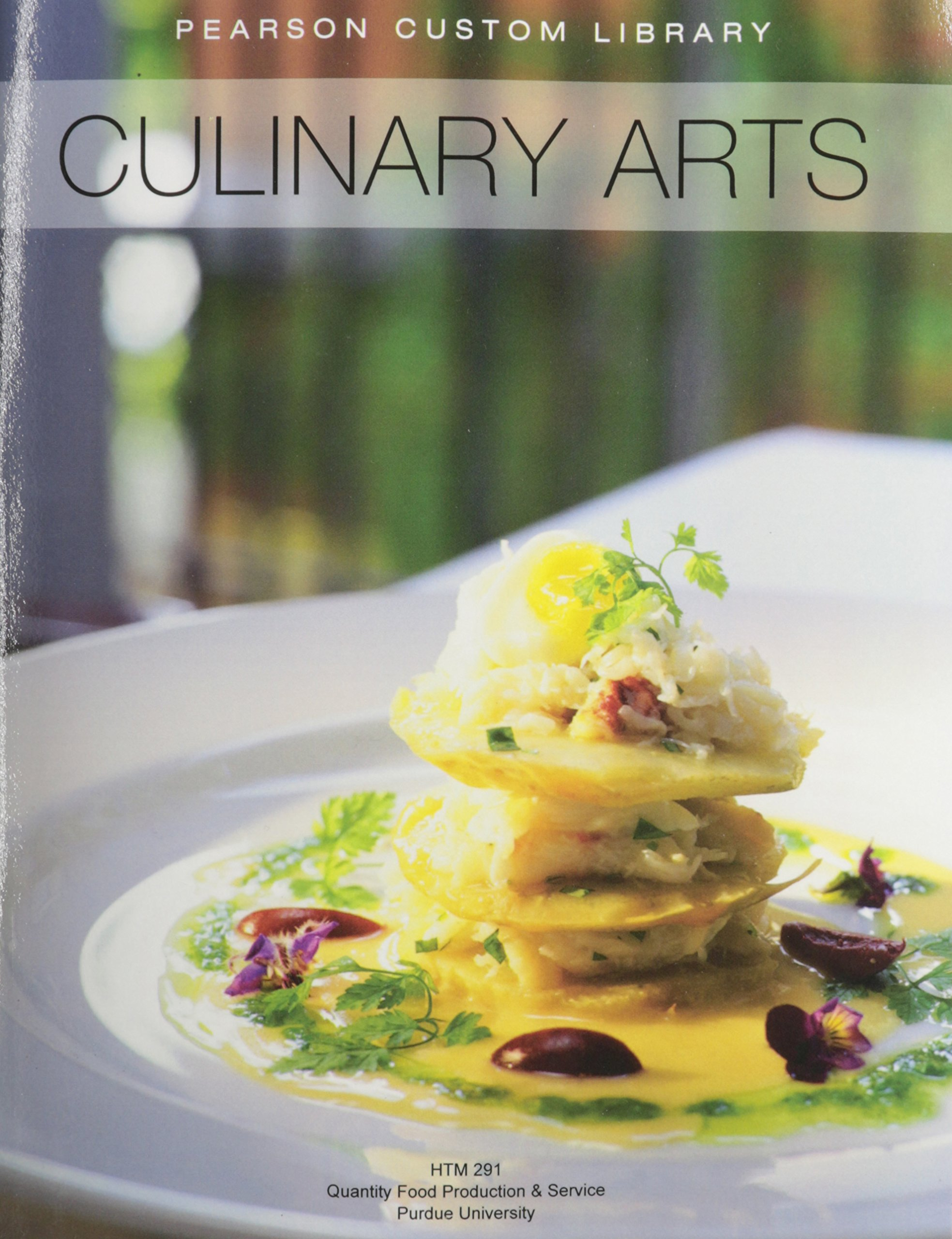 Download Culinary Arts   HTM 291 Purdue University PDF
