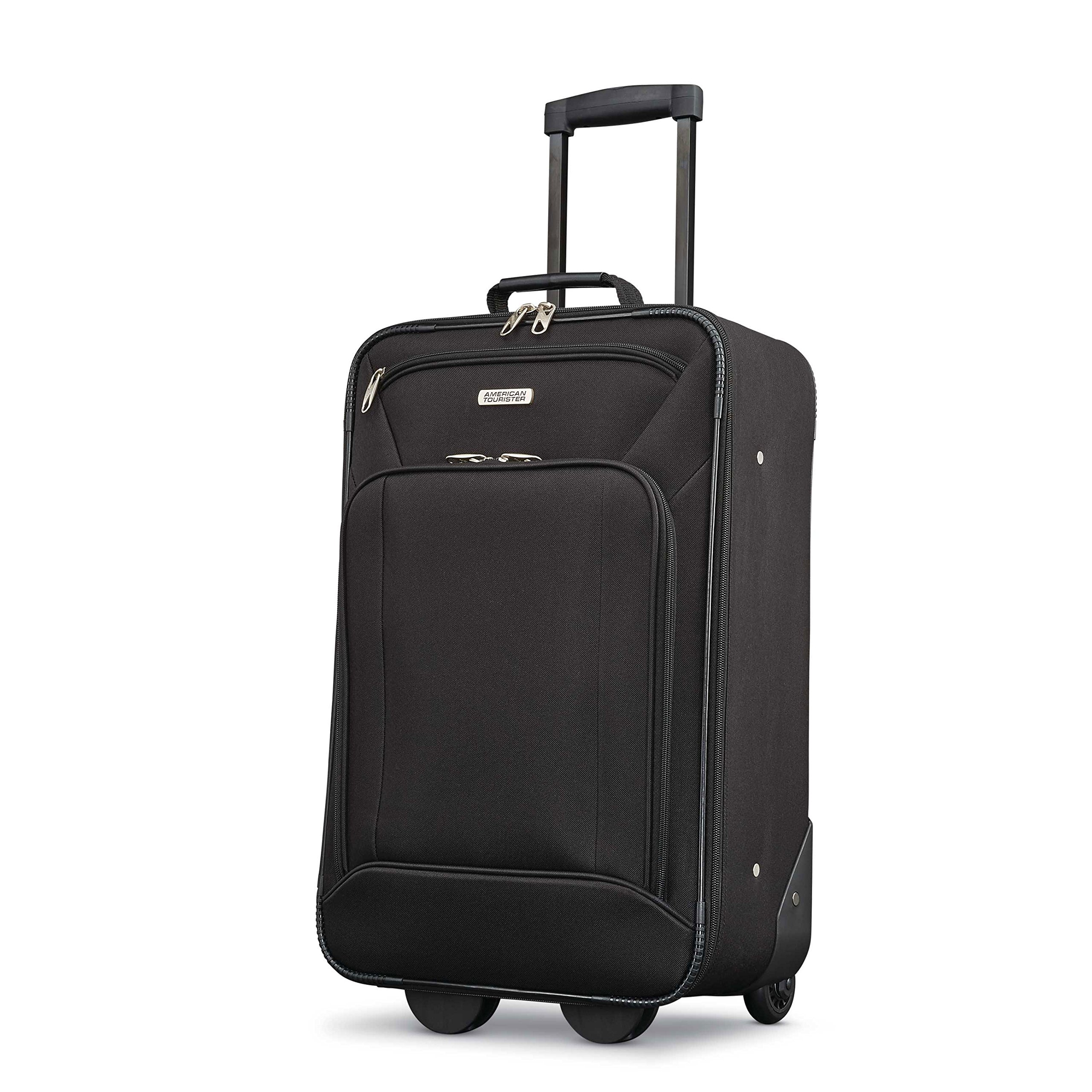 American Tourister Fieldbrook Xlt 4pc Set (Bb/Wh Dfl/ 21/25 Upright), Black by American Tourister (Image #5)