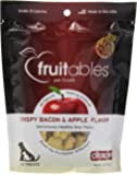 Fruitables Crispy Bacon and Apple Crunchy Dog Treats, 1-7-Ounce Pouch