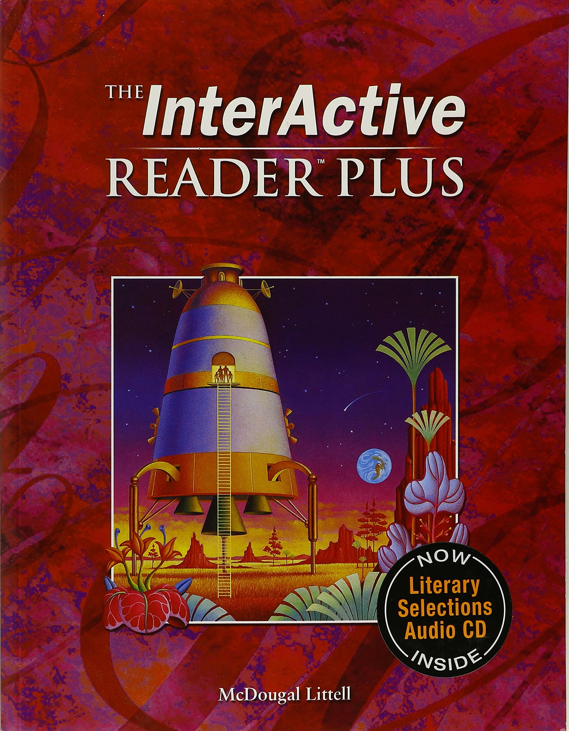McDougal Littell Language of Literature: The Interactive Reader Plus with Audio CD-Rom Grade 7 by MCDOUGAL LITTEL