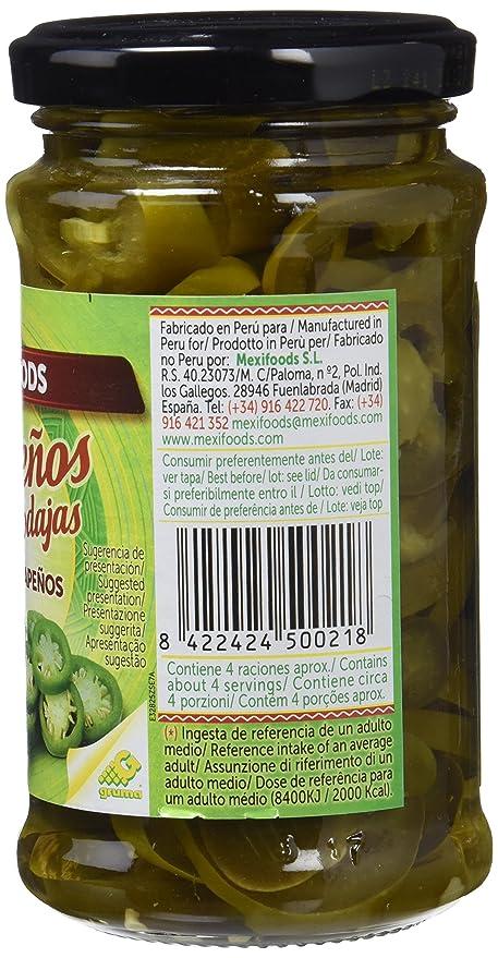 Mexifoods Encurtidos - 6 Paquetes de 225 gr - Total: 1350 gr ...
