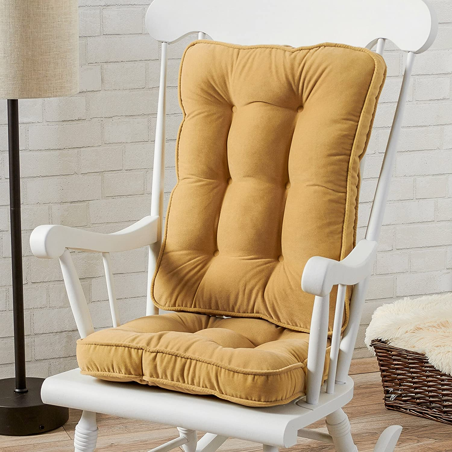 Amazon Greendale Home Fashions Standard Rocking Chair Cushion