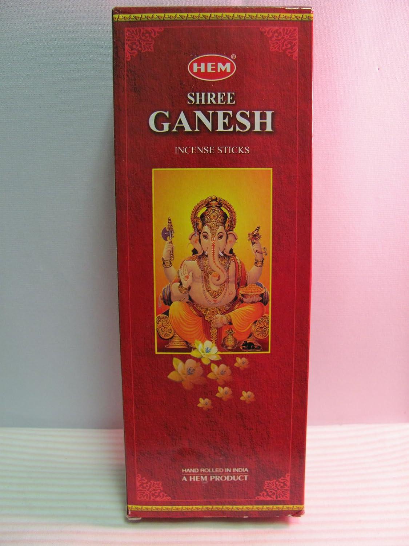 Hem Shree Ganesh (ボックスof 6チューブ)   B008AWN8G8