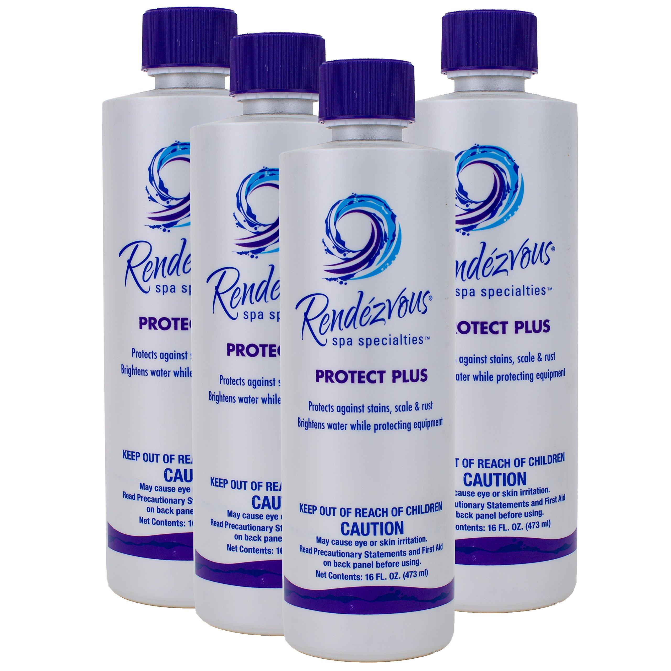 Rendezvous Spa Specialties Protect Plus (1 pt) (4 Pack) by Rendezvous Spa Specialties