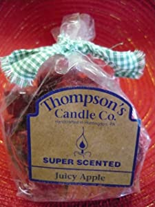Thompson's Candle Co. Super Scented Crumbles 6 Oz. - Juicy Apple