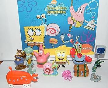 Amazon.com: Bob Esponja y Amigos Mini Toy Figure Playset de ...
