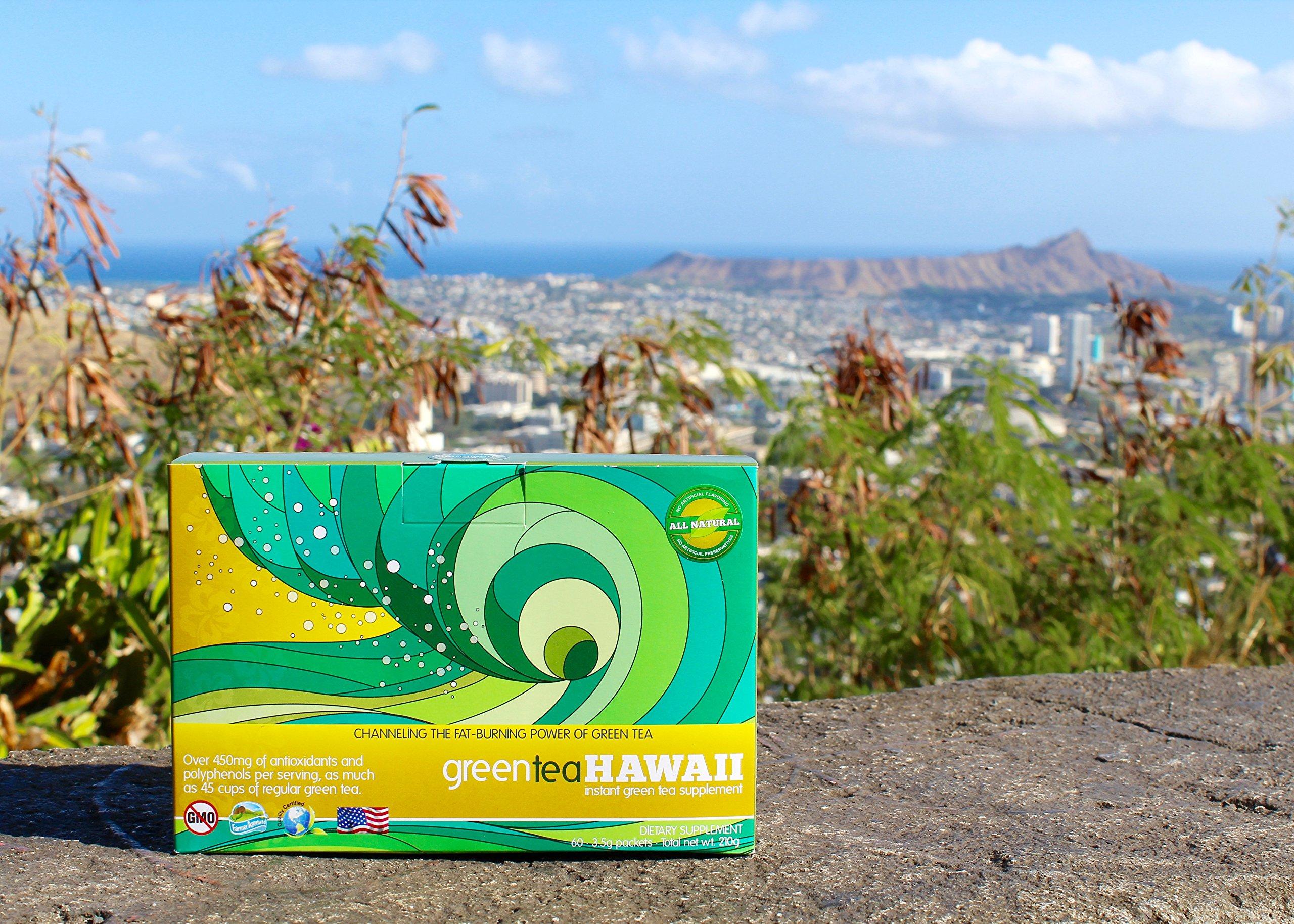 Green Tea Hawaii--60 Count--30 Day Supply (Passion Orange Guava Flavor)