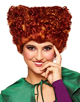 Spirit Halloween Hocus Pocus Winifred Sanderson Wig For Adults Deluxe Officially Licensed