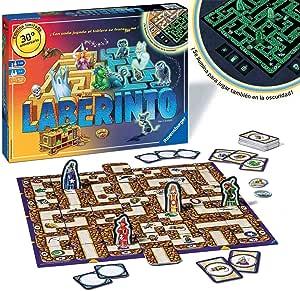 Ravensburger Laberinto Magico Glow In The Dark, Juego de mesa, 2-4 Jugadores, Edad recomendada 7+ (26692): Amazon.es: Juguetes y juegos
