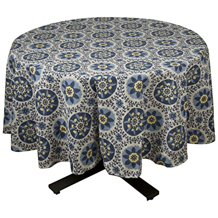 Raymond Waites Premium Quality 100% Cotton Round Table Cloth / Table Linen  70u0026quot; Diam