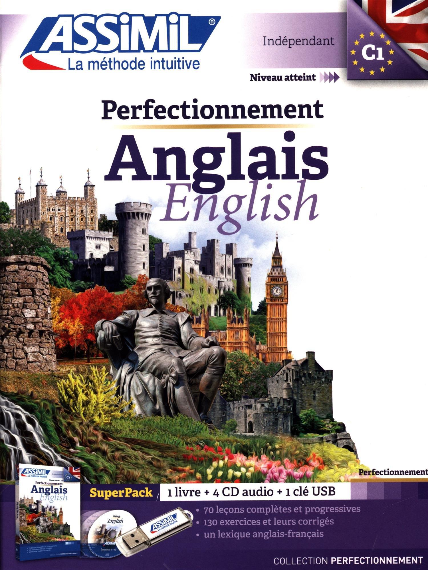 livre assimil anglais perfectionnement