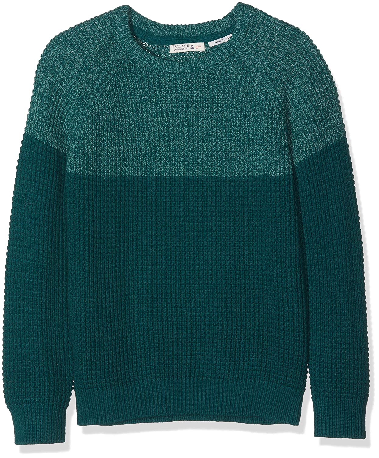Fat Face Boy's Charlie Colour Block Crew Jumper 936683