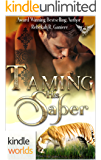 Paranormal Dating Agency: Taming his Saber (Kindle Worlds Novella)