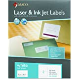 Dymo labelwriter twin turbo 69115 office for Maco laser and inkjet labels template