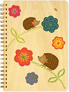 product image for Hazel Hedgehog Journal with Real Wood Covers