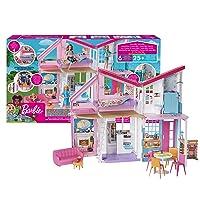 Barbie Malibu House Doll Playset FXG57 Deals