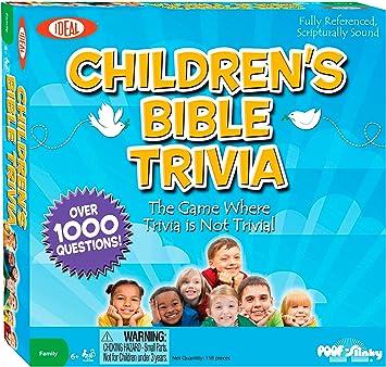 Ideal para los niños de la Biblia – Juego de Preguntas: Amazon.es: Juguetes y juegos