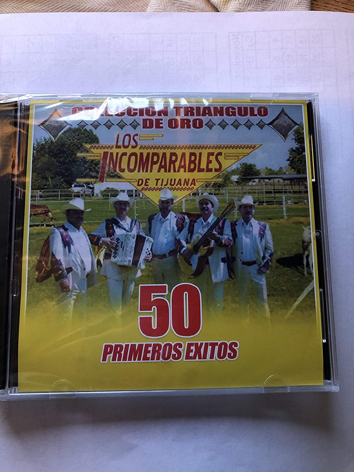 Los incomparables de tijuana - Los incompareables de tijuana 50 primeros exitos - Amazon.com Music