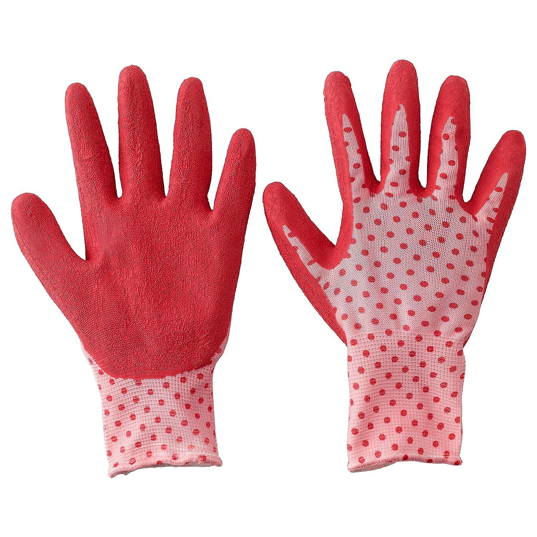 Ikea VIKFJARD Gardening Gloves, red, M/L: Amazon.in: Home & Kitchen