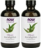 Now Eucalyptus Essential Oil 4-Ounce 2 Count