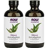 NOW Foods Eucalyptus Essential Oil, 4-Ounce , 2 Count