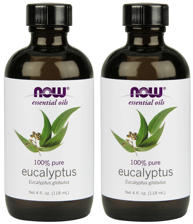 NOW Eucalyptus Essential Oil, 4-Ounce , 2 Count