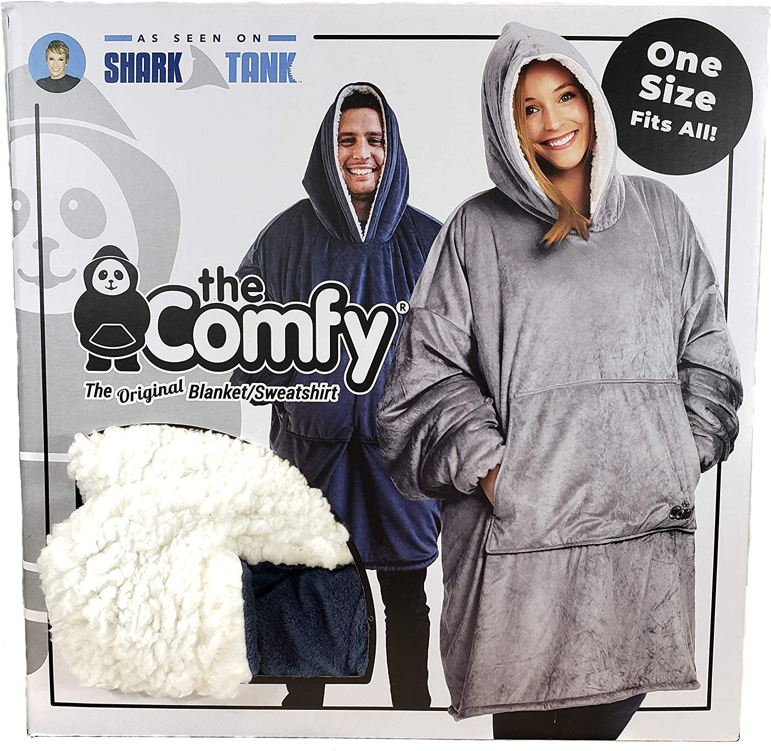 THE COMFY The Original Blanket/Sweatshirt Navy