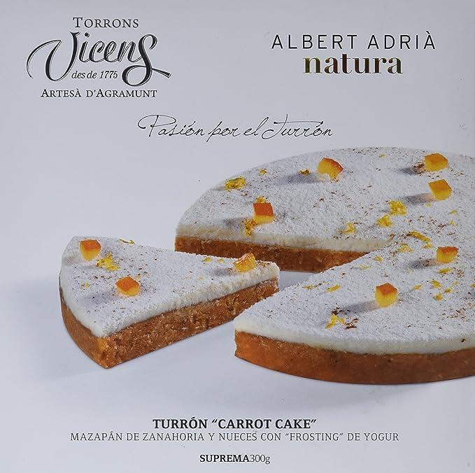 Vicens Turrón Carrot Cake Adrià Natura - 300 gr