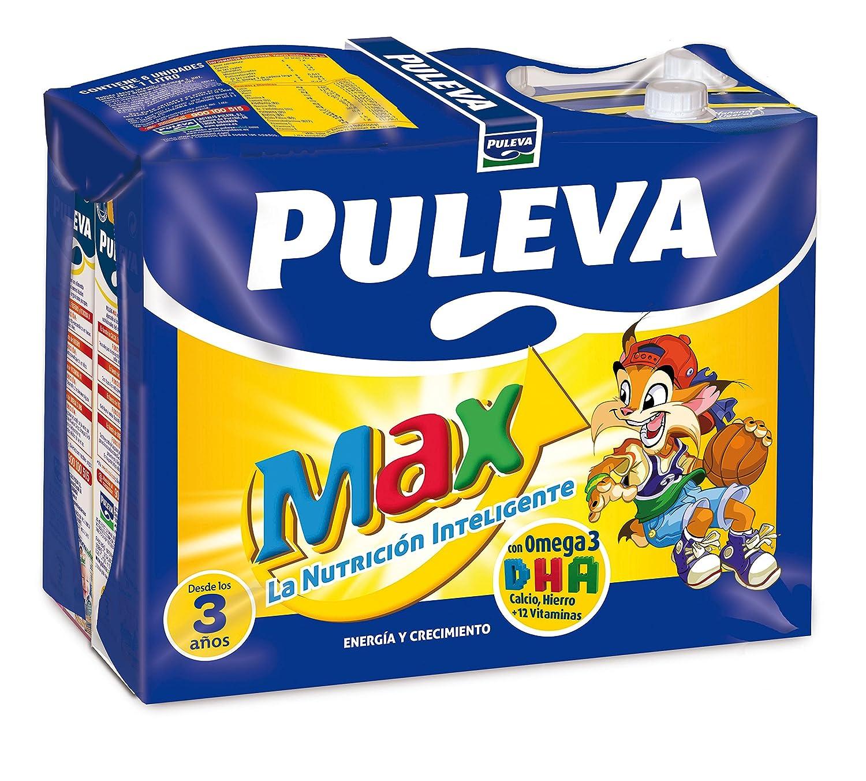 Puleva Leche Max Energía y Crecimiento - Pack de 6 x 1 l - Total: 6 l: Amazon.es: Amazon Pantry