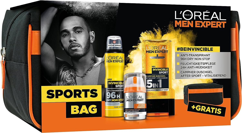 L Oréal Men expert Sports Bag Cuidado Set: Amazon.es: Belleza