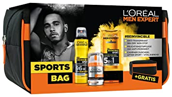 L Oréal Men expert Sports Bag Cuidado Set