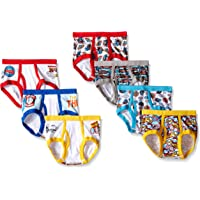 Thomas the Train Handcraft Little Boys Engine Brief (Pack of 7), Multi, 4T