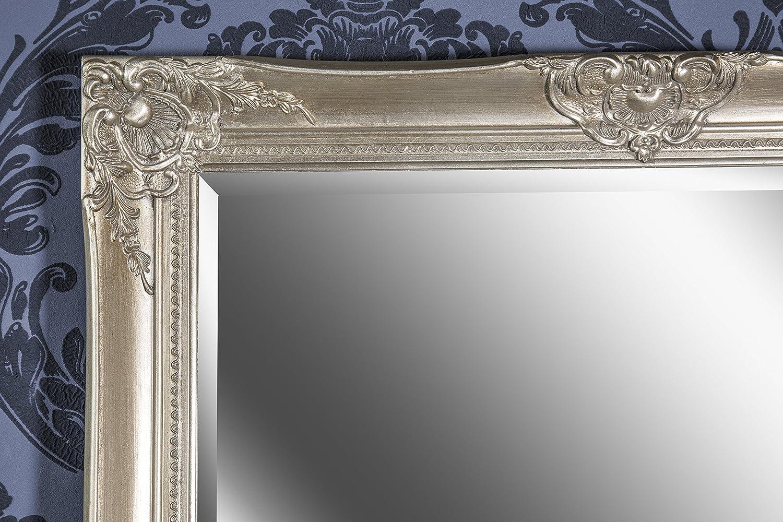 B.U.S Wohnstyle GmbH Wandspiegel Spiegel silber Barock SHAILENE 170 x 70 cm