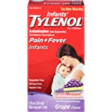 TYLENOL Infants' Oral Suspension Grape Flavor 1 oz