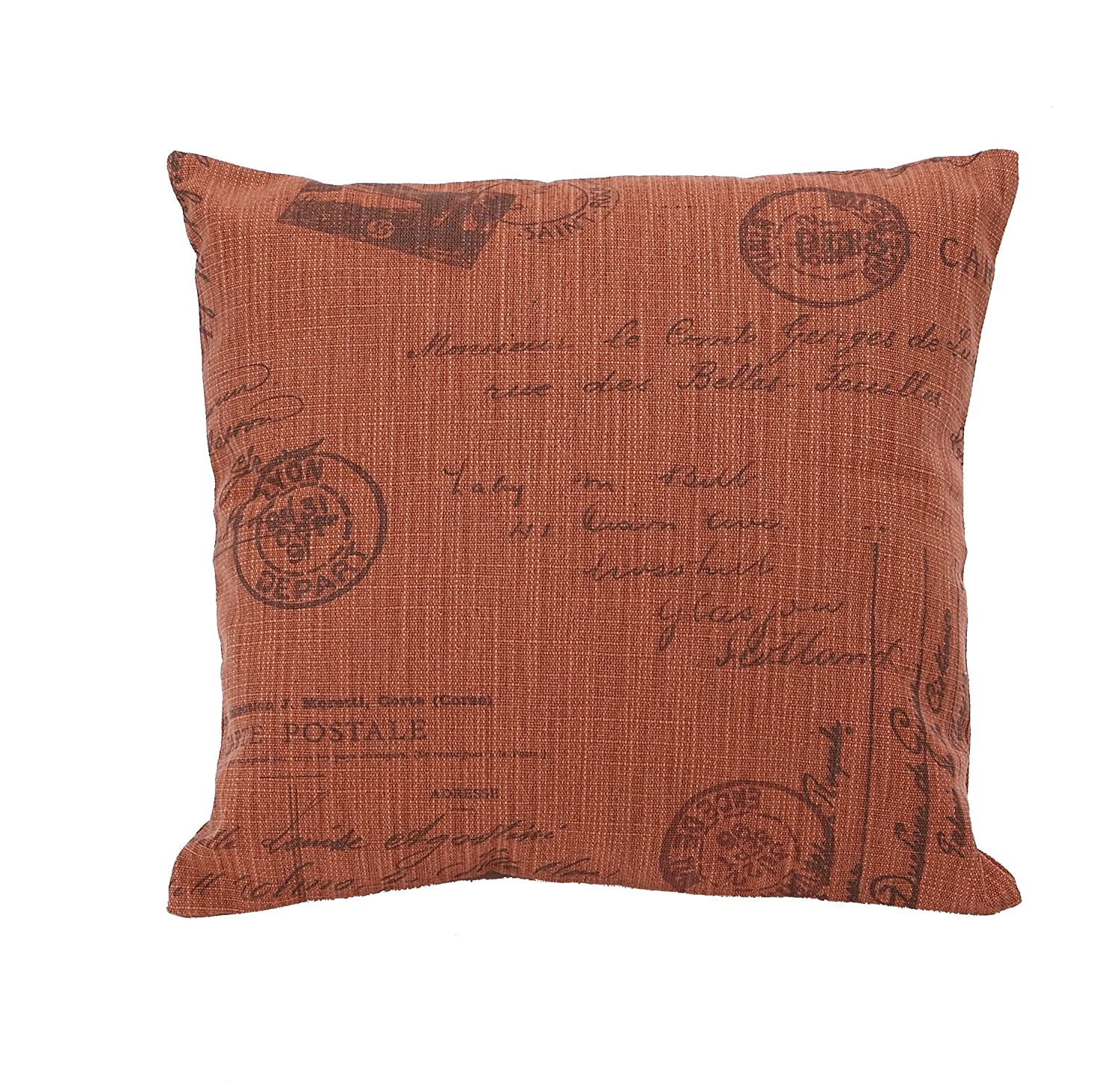 Plutus Brands Decorative Pillow Filling and Soft Fabric Cover UE0890