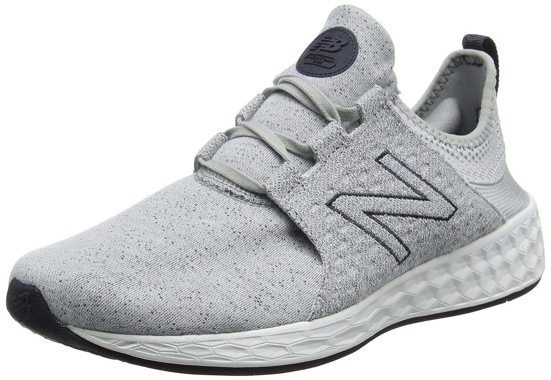 New Balance Fresh Foam Cruz Hoody Pack, Zapatillas de Running para Hombre 45.5 EU|Plateado (Silver)