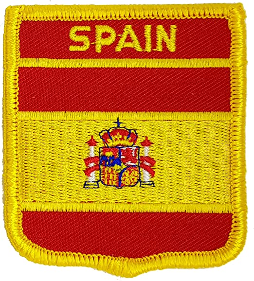 Bandera de España bordada para planchar o coser en parches, diseño ...