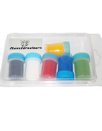 colorantes alimentarios de polvo liposoluble 6 x 12ml (10g)