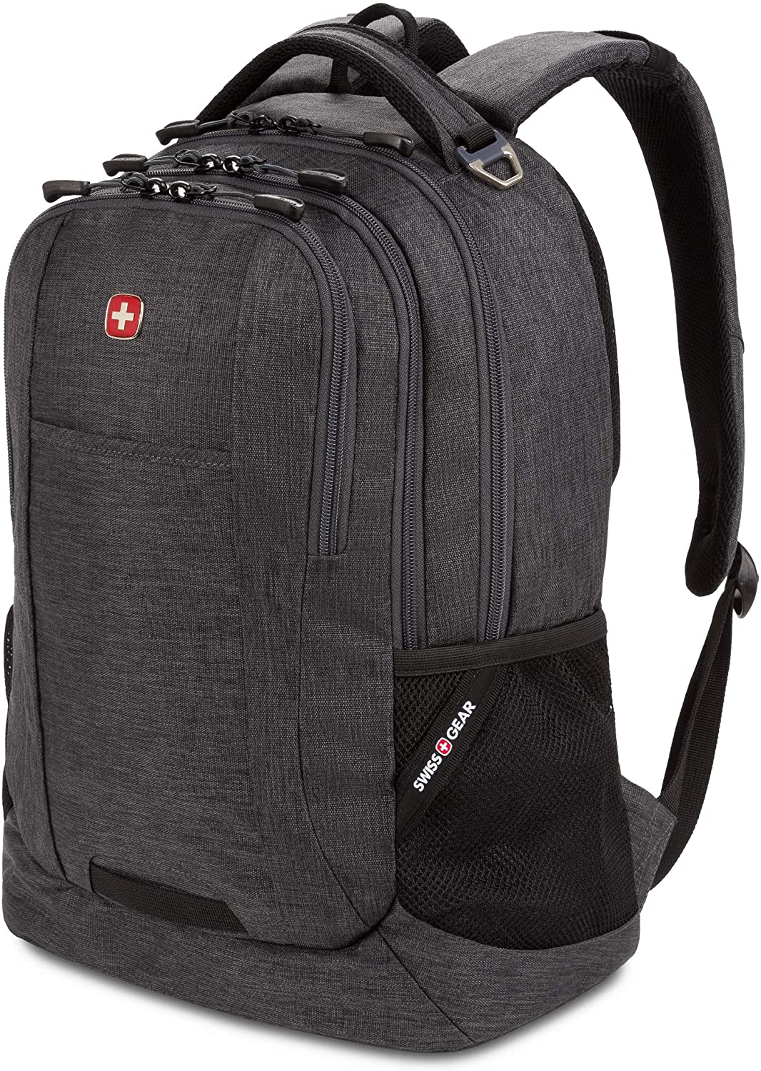 SWISSGEAR 5505 Laptop Backpack for Men and Women, Ideal for Commuting, Work, Travel, College, and School, Fits 15 Inch Laptop Notebook (Dark Grey)