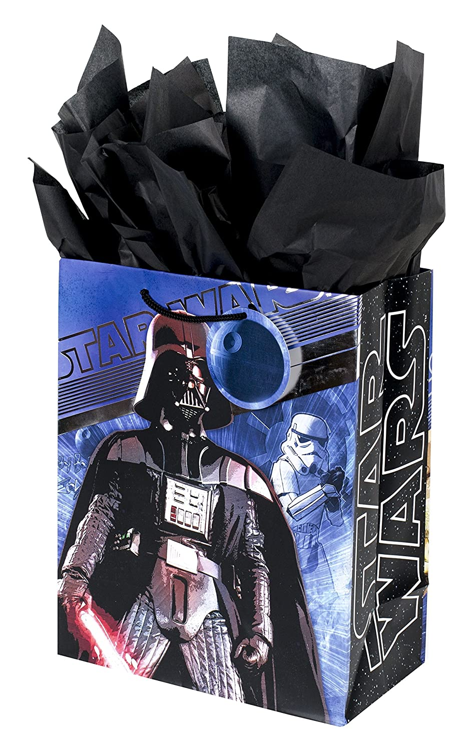 Hallmark Large Star Wars Gift Bags with Tissue Paper (Pack of 3) 5EGB6064