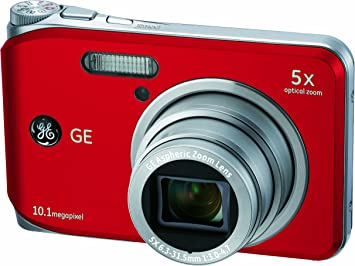 General Electric Ge J1050 Digital Camera 10 Megapixels Camera Photo