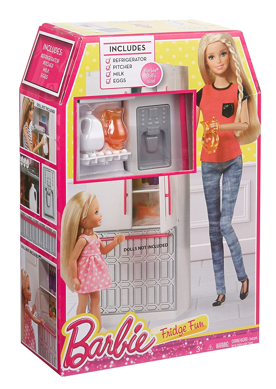 Mattel Barbie CFG70 - Kühlschrank, Puppenzubehör: Amazon.de: Spielzeug
