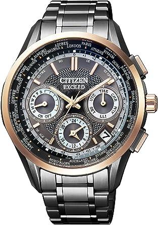 3a43ea9383 Amazon | [シチズン]CITIZEN 腕時計 EXCEED エコ・ドライブGPS衛星電波 ...