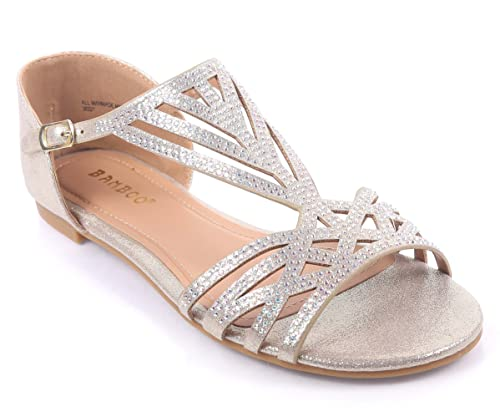 a16d68447c36 Fashion Sexy Blink Gladiator Ankle Strap Side Buckle Slip On Strappy Womens  Sandals Flat Shoes New