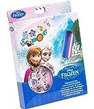 Disney 92075- Frozen 3 Braccialetti con 18 Charms da Applicare, 15 x 2.5 x 20 cm