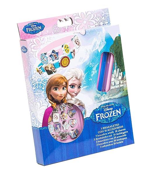 27 opinioni per Disney 92075- Frozen 3 Braccialetti con 18 Charms da Applicare, 15 x 2.5 x 20 cm