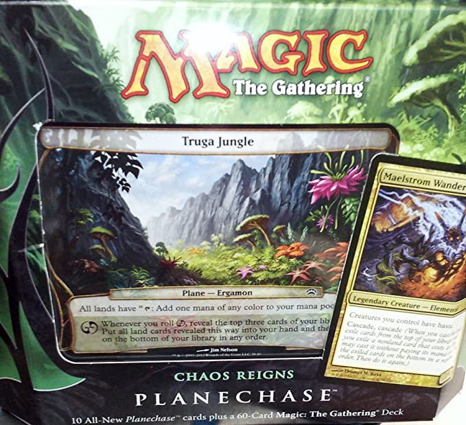 Magic the Gathering- MTG: Planechase (2012 Edition) Chaos ...