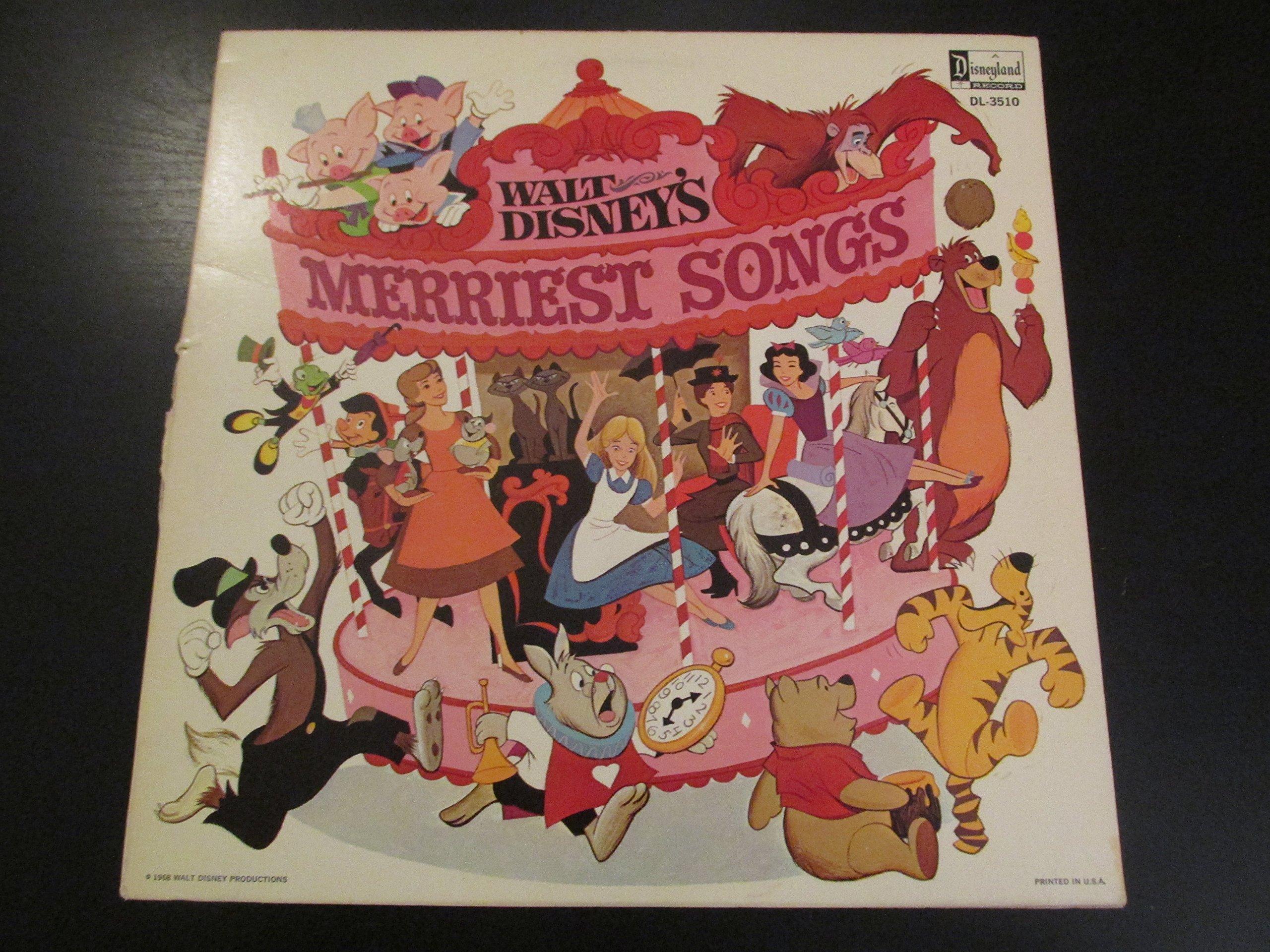 Walt Disney's Merriest Songs by Disneyland (Image #1)
